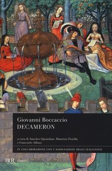 Decameron - Giovanni Boccaccio - copertina