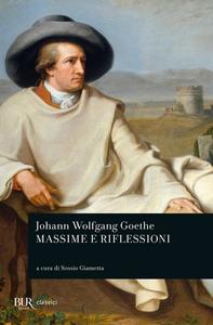 Libro Massime e riflessioni J. Wolfgang Goethe