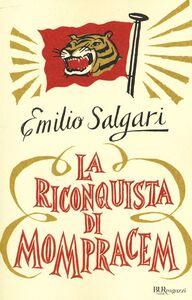Libro La riconquista di Mompracem Emilio Salgari