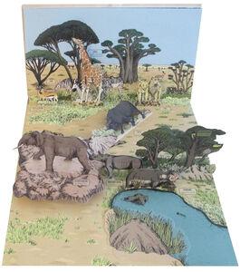 Libro Animalia. Viaggio animato nel mondo degli animali. Libro pop-up Arnaud Roi , Hélène Rajcak 4