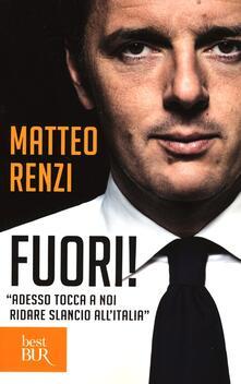 Fuori! - Matteo Renzi - copertina