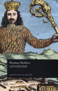 Libro Leviatano Thomas Hobbes