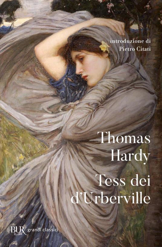 Tess dei d'Urberville - Thomas Hardy - copertina