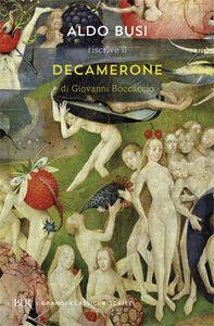 Libro Il Decamerone Giovanni Boccaccio , Aldo Busi