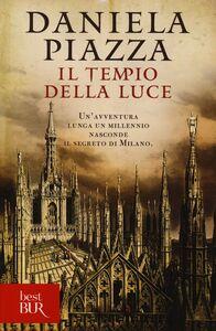 Libro Il tempio della luce Daniela Piazza