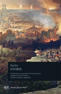 Libro Storie P. Cornelio Tacito