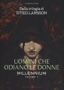 Libro Uomini che odiano le donne. Millennium. Vol. 1 José Homs , Sylvain Runberg , Stieg Larsson
