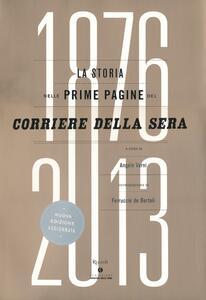 Libro La storia nelle prime pagine del Corriere della Sera (1876-2013)