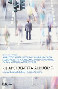 Libro Ridare identità all'uomo