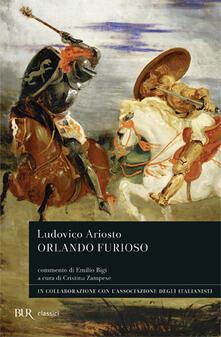 Orlando furioso - Ludovico Ariosto - copertina