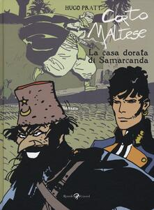 Corto Maltese. La casa dorata di Samarcanda. Vol. 11 - Hugo Pratt - copertina