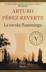 Libro La tavola fiamminga Arturo Pérez-Reverte