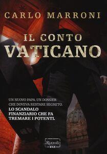 Libro Il conto Vaticano Carlo Marroni