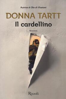 Il cardellino - Donna Tartt - copertina