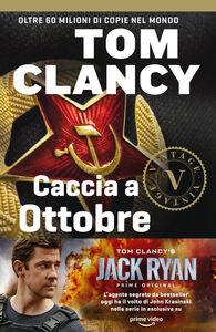 Foto Cover di La grande fuga dell'Ottobre Rosso, Libro di Tom Clancy, edito da Rizzoli