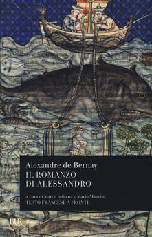Nicocaradonna.it Il romanzo di Alessandro. Testo francese a fronte Image