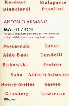 Maledizioni. Processi, sequestri, censure a scrittori e editori in Italia dal dopoguerra a oggi, anzi a domani.pdf