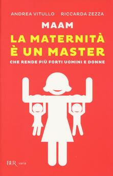 Promoartpalermo.it Maam. La maternità è un master che rende più forti uomini e donne Image