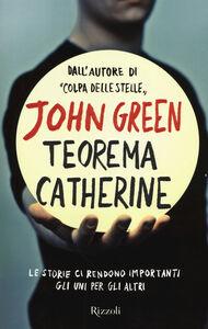 Libro Teorema Catherine John Green