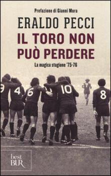 Voluntariadobaleares2014.es Il Toro non può perdere. La magica stagione '75-'76 Image