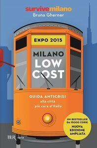 Libro Milano low cost 2015 Bruna Gherner