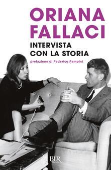 Intervista con la storia - Oriana Fallaci - copertina