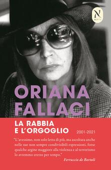 La rabbia e l'orgoglio - Oriana Fallaci - copertina