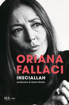 Insciallah - Oriana Fallaci - copertina