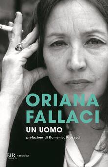 Un uomo - Oriana Fallaci - copertina