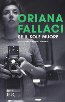 Se il Sole muore - Oriana Fallaci - copertina
