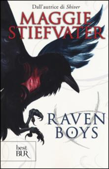 Raven boys - Maggie Stiefvater - copertina