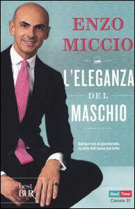 Libro L' eleganza del maschio Enzo Miccio