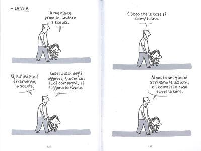 Foto Cover di Diario del cattivo papà. Vol. 3, Libro di Guy Delisle, edito da Rizzoli Lizard 3