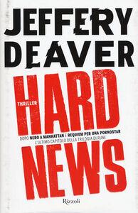 Libro Hard news Jeffery Deaver