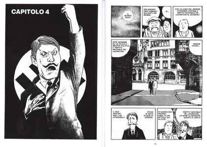 Foto Cover di Hitler, Libro di Shigeru Mizuki, edito da Rizzoli Lizard 4