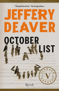 Libro October List Jeffery Deaver