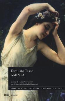 Aminta - Torquato Tasso - copertina