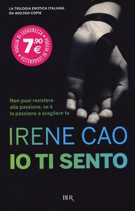 Libro Io ti sento Irene Cao