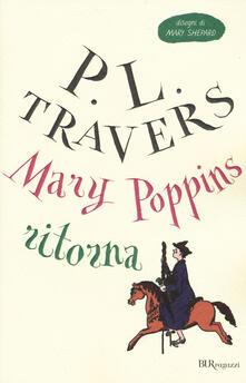 Mary Poppins ritorna. Ediz. integrale - P. L. Travers - copertina