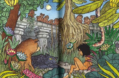 Foto Cover di Il libro della giungla, Libro di Rudyard Kipling, edito da Rizzoli 4