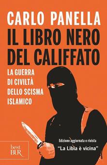 Il libro nero del califfato - Carlo Panella - copertina