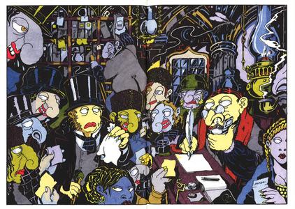 Libro Il naso-Il cappotto. Ediz. illustrata Nikolaj Gogol' , Tullio F. Altan 3