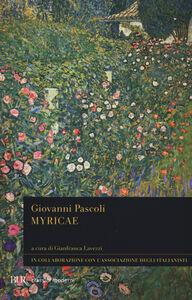 Libro Myricae Giovanni Pascoli