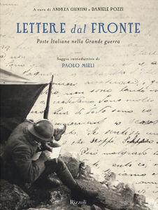 Foto Cover di Lettere dal fronte. Poste Italiane nella grande guerra, Libro di  edito da Rizzoli 0