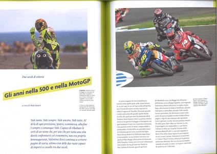 """Libro Vale! Il mito di Valentino Rossi nelle pagine de """"La Gazzetta dello Sport""""  2"""