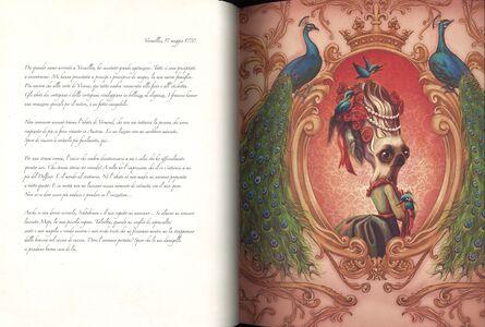 Foto Cover di Maria Antonietta. Il diario segreto di una regina, Libro di Benjamin Lacombe, edito da Rizzoli 2