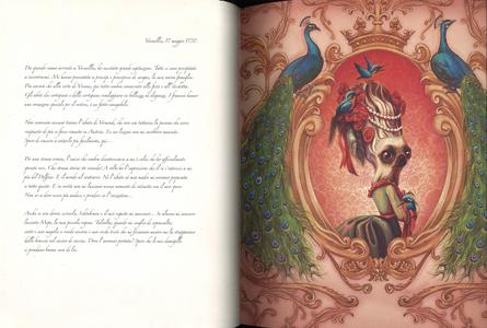 Libro Maria Antonietta. Il diario segreto di una regina Benjamin Lacombe 2