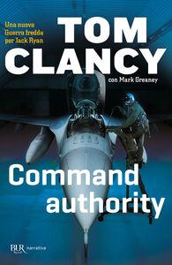 Libro Command authority Tom Clancy , Mark Greaney