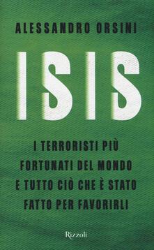 Voluntariadobaleares2014.es Isis. I terroristi più fortunati del mondo e tutto ciò che è stato fatto per favorirli Image