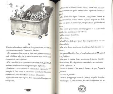 Libro Hamish e i Fermamondo Danny Wallace 3